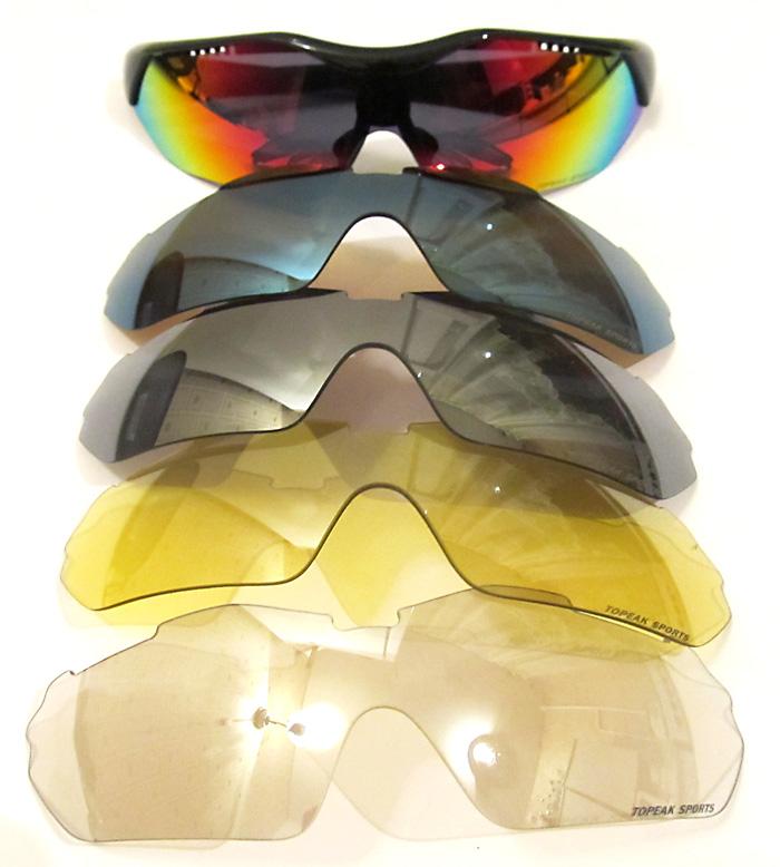 велосипедные очки Topeak sunglasses сменные линзы