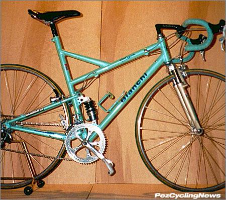Шоссейный двухподвес Bianchi Paris-Roubaix