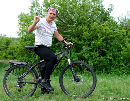 Вова на велосипеде ГОСТ