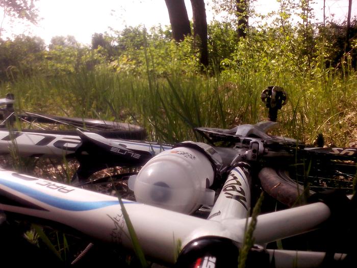 Перерыв на велосипеде
