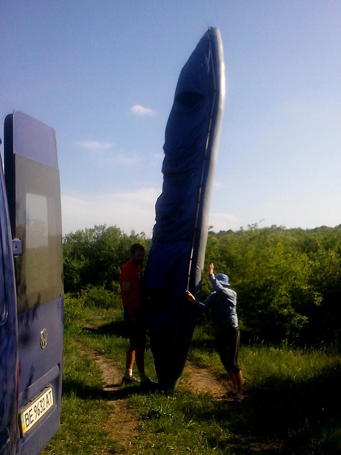 длинная лодка Щука