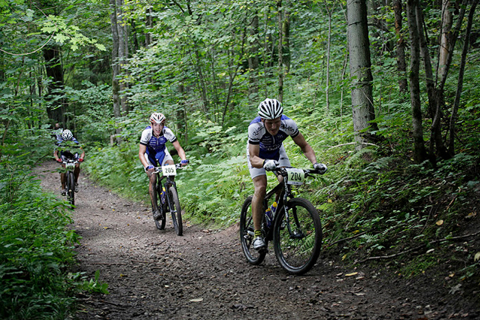 Объединяющий заезд велосипедистов Латвии