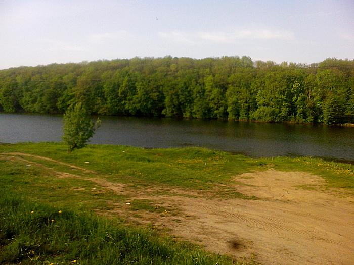 Озеро, окрестности Гайсина