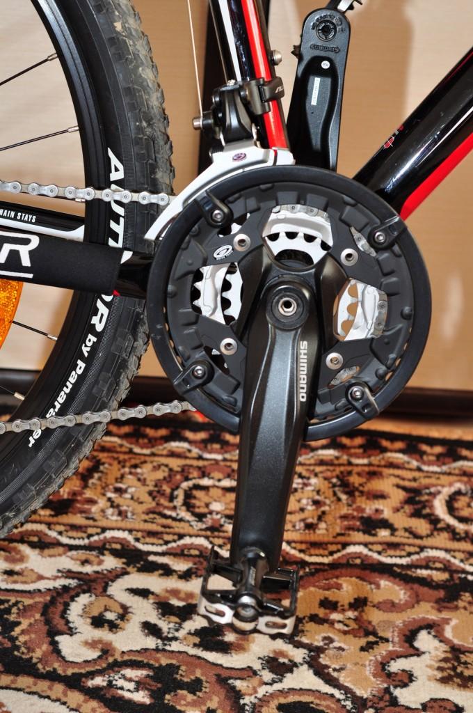 """Мой велосипед — Велосипед Author Traction 19"""" шатуны передние звезды"""