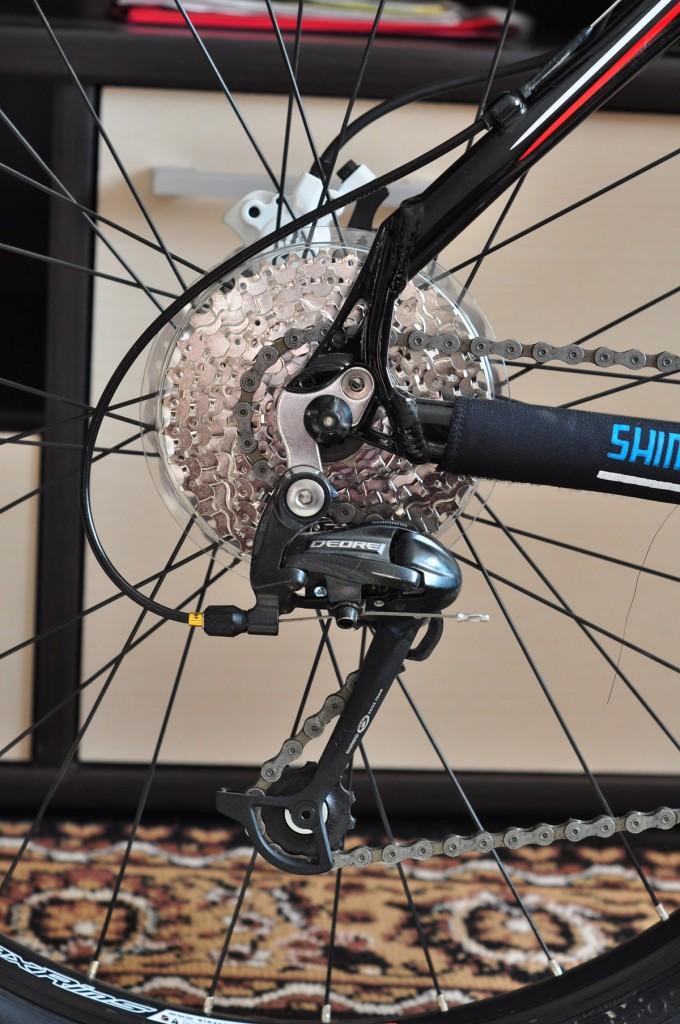 """Велосипед Author Traction 19"""" задняя перекидка, кассета"""