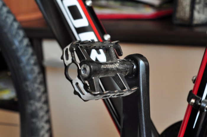 "Мой велосипед — Велосипед Author Traction 19"" педали"