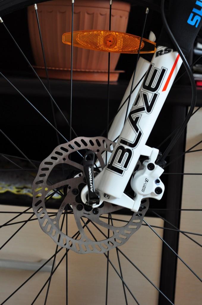 """Мой велосипед — Велосипед Author Traction 19"""" вилка и дисковые тормоза"""