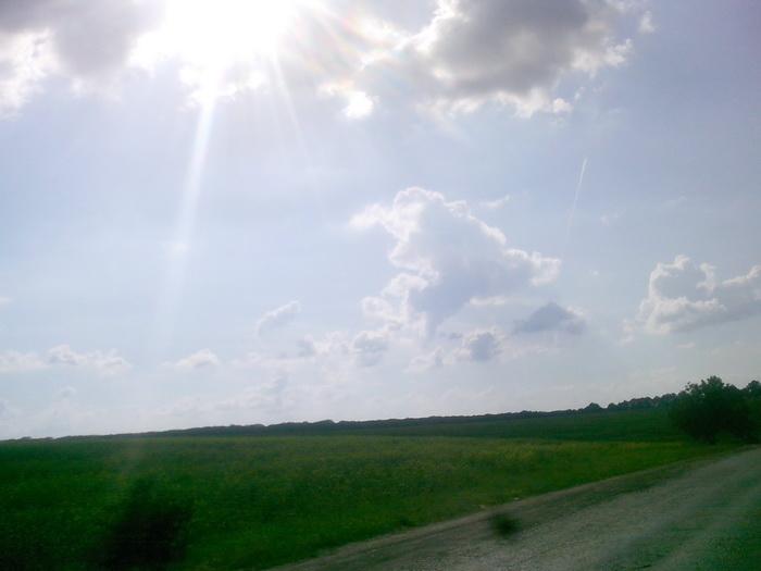 Ладижин. Небо