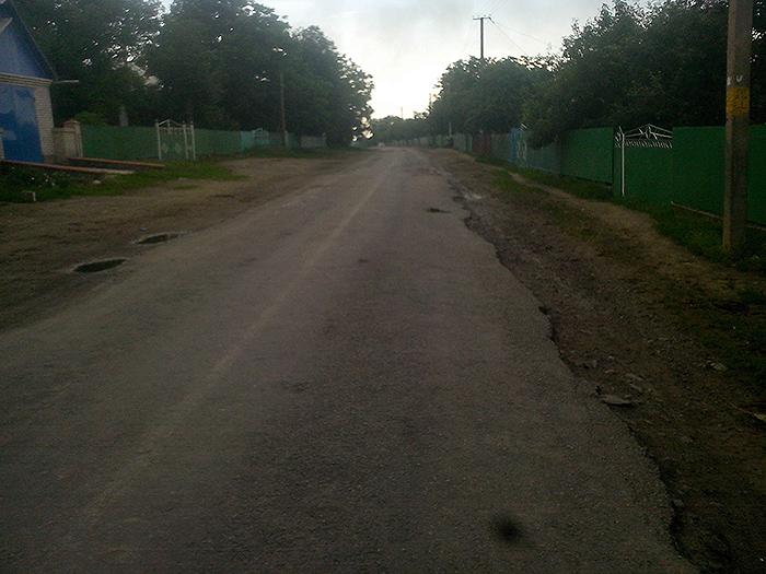шоссейная дорога на Виниччине
