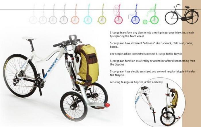 велосипед S-cargo