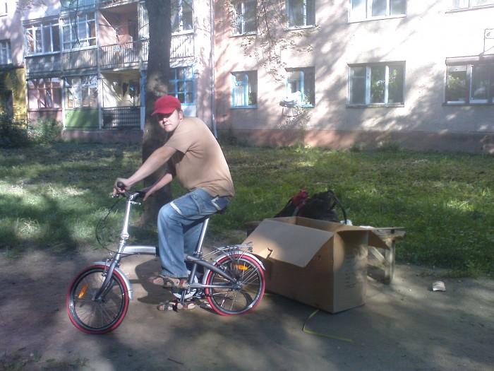 Складной велосипед Ventura с коробки
