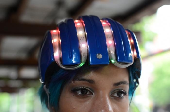 Правильный велосипедный шлем