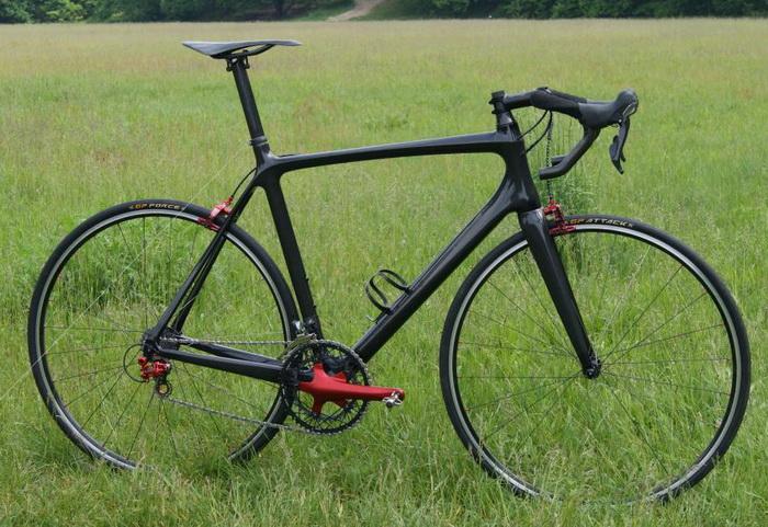 сверхлегкий велосипед Raumgleiter bike