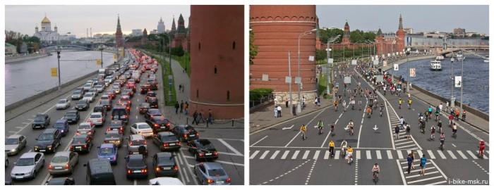 московские дороги суровые