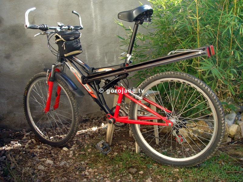Самодельные велосипеды с багажником
