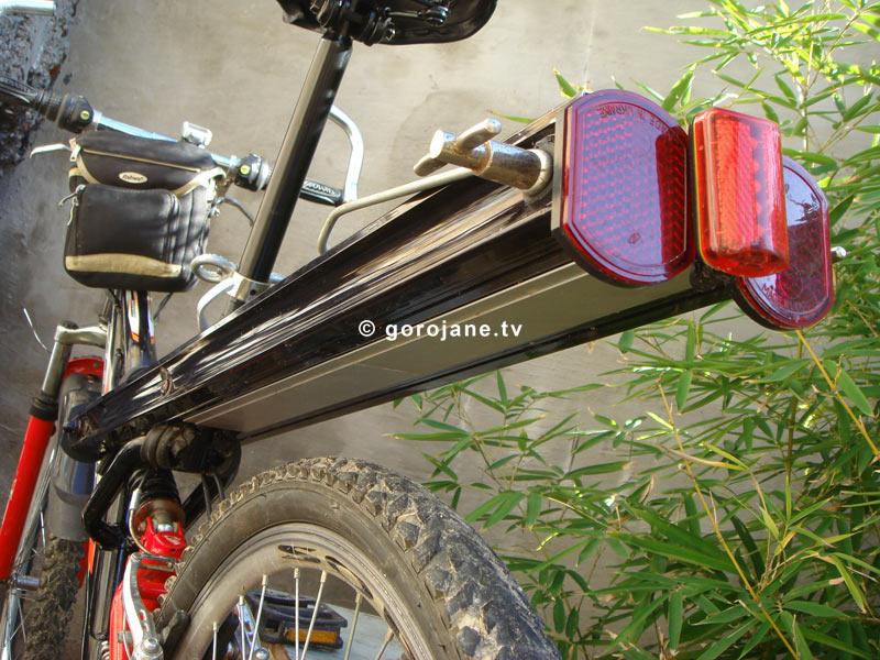 Багажник для горного велосипеда своими руками 9