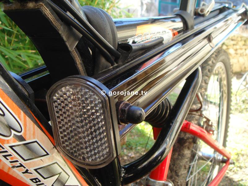 Как сделать катафот для велосипеда 411