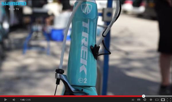 Специальная раскраска велосипедов Trek для Тур де Франс