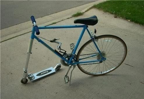trike, road bike, humor, hybrid