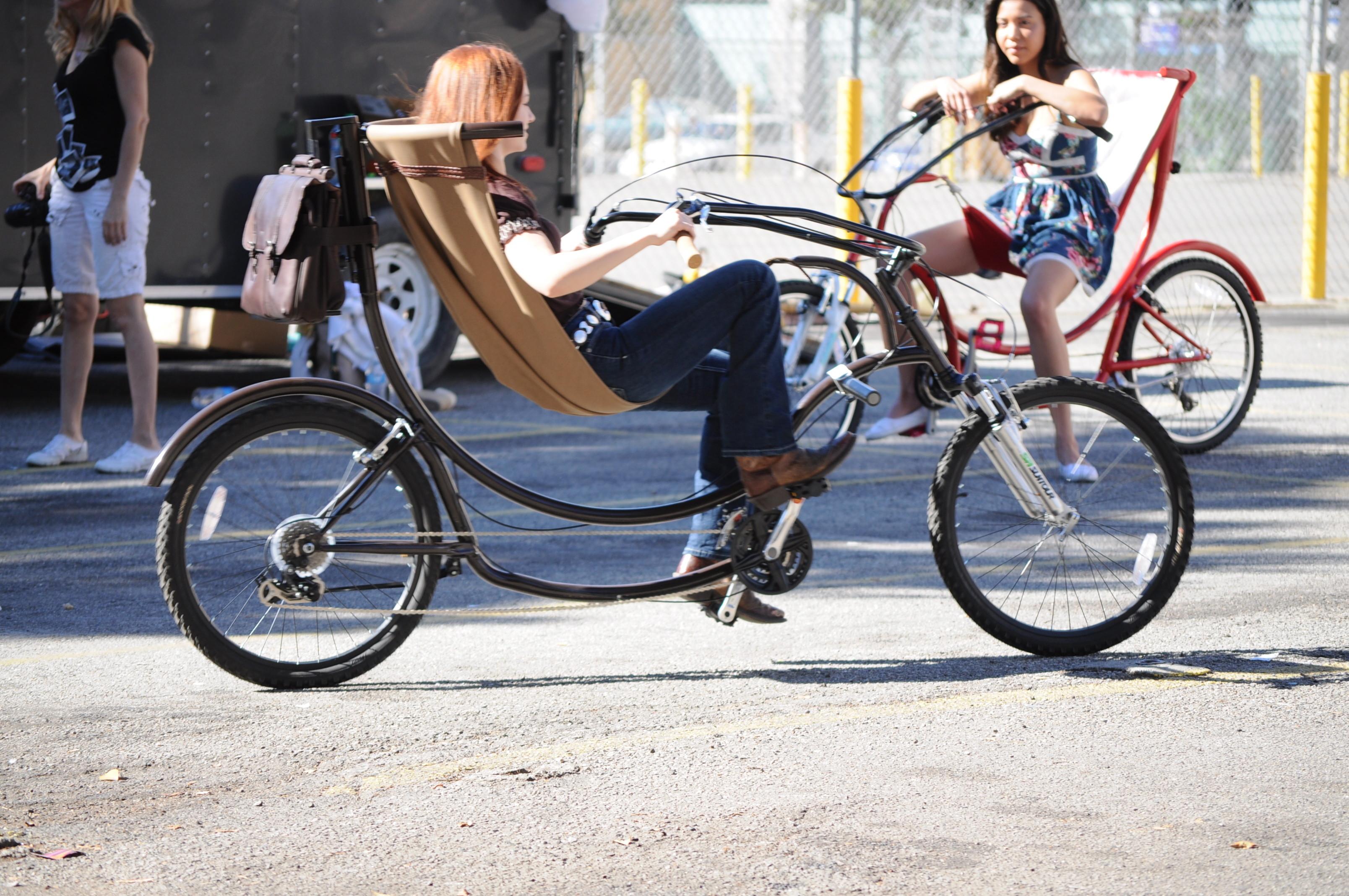 Секс на седле велосипеда 13 фотография