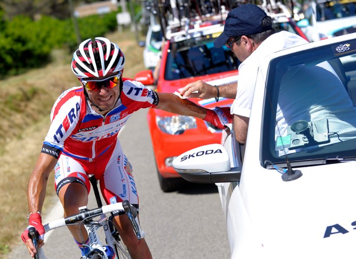 лечение во время велогонки