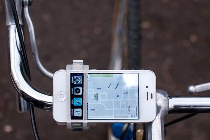 Handleband: универсальный велодержатель для гаджетов