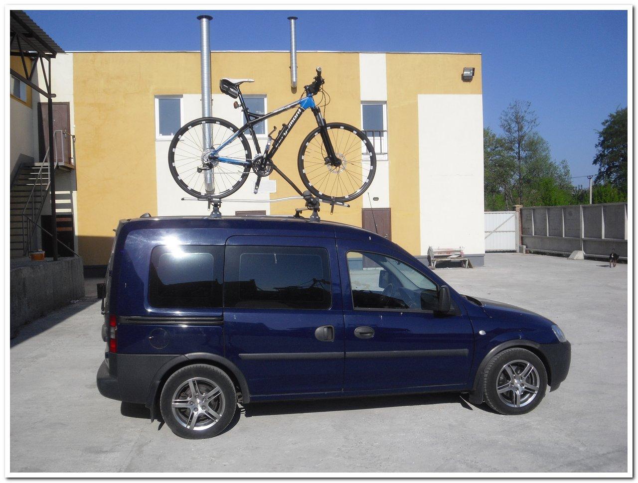 велосипед на крыше