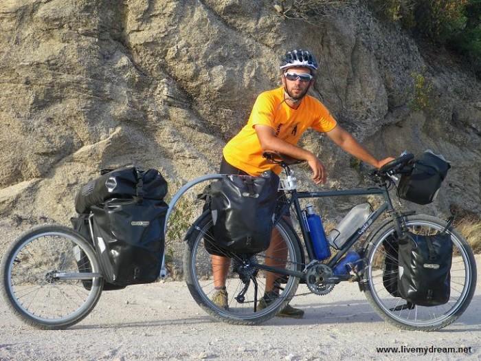 biker Carlos Pérez