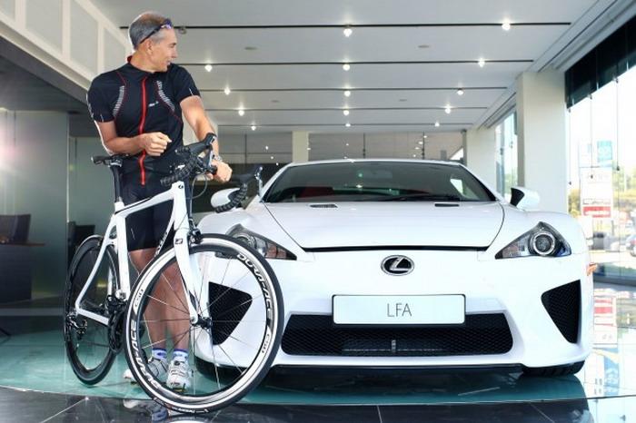 велосипед Toyota Bike Lexus LFA