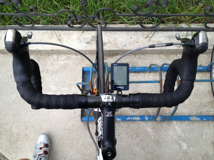шоссейный велосипед Scapin - велокомпьютер