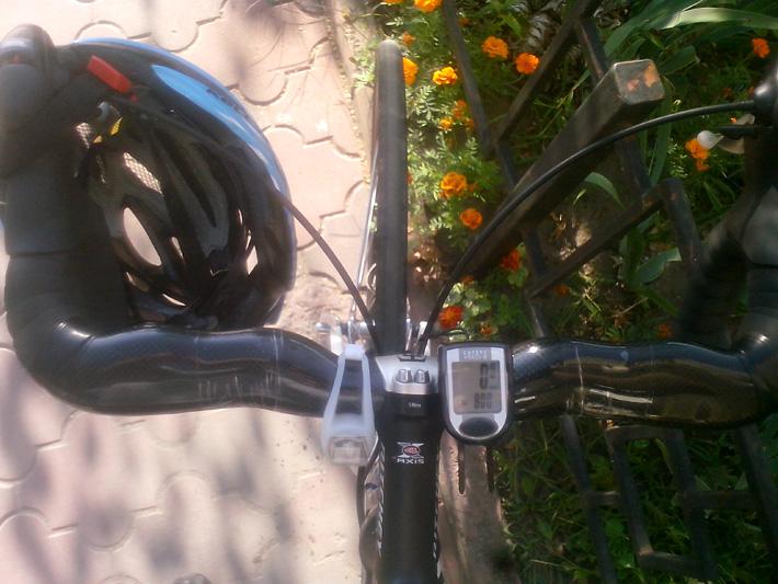 руль шоссейного велосипеда