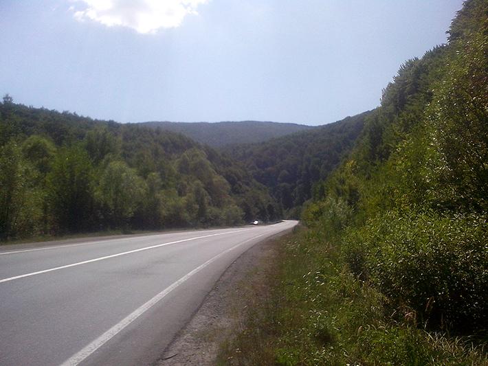 В карпаты на шоссейнике