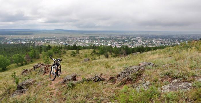 Казахстан посёлок Боровое на велосипеде
