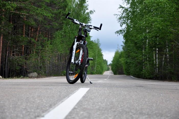 велосипед Автор – посёлок Боровое