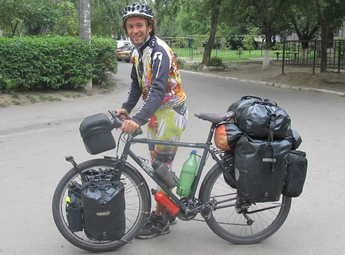 Велосипедист Carlos Pérez