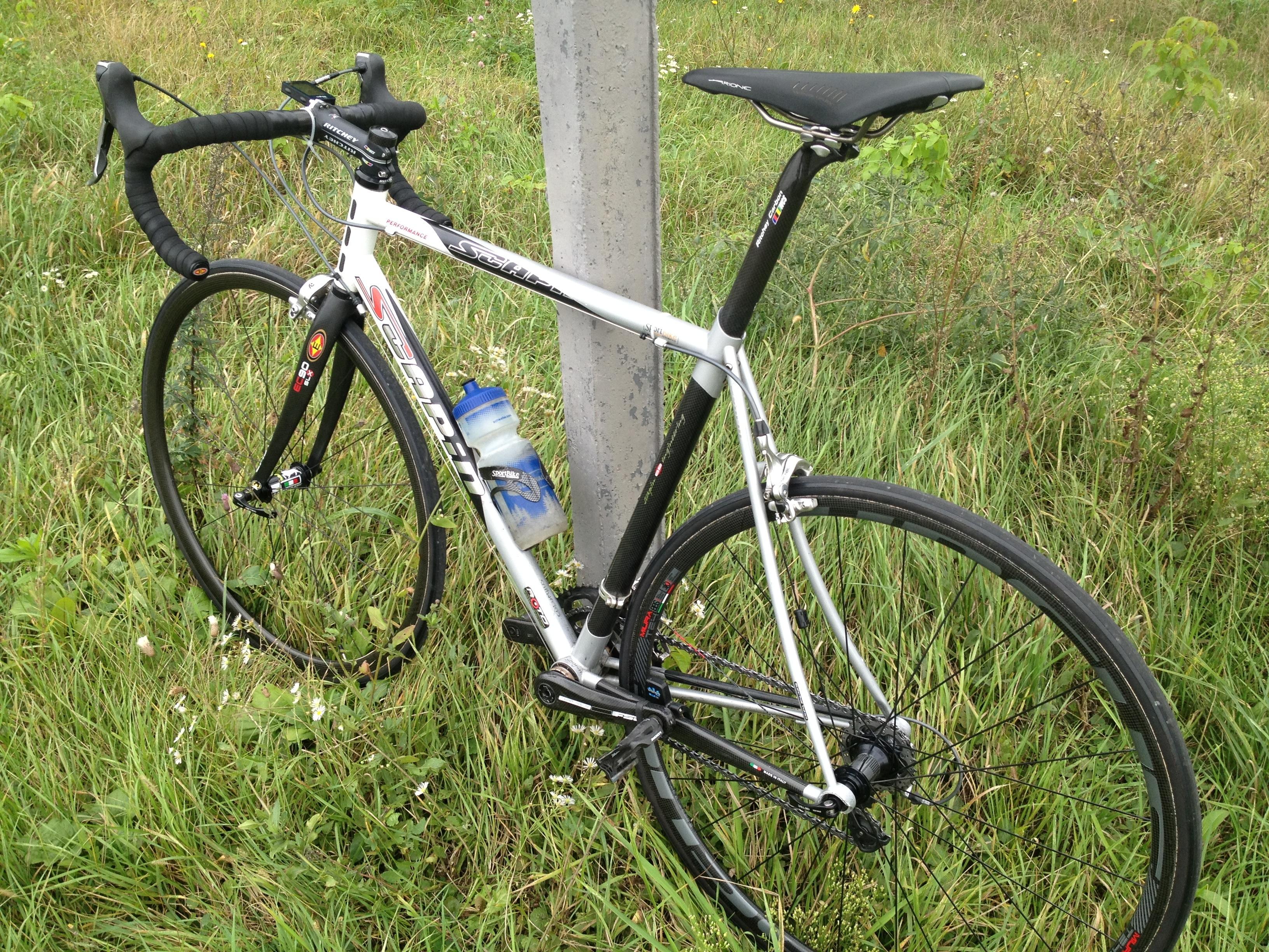 шоссейный велосипед Scapin - колёса