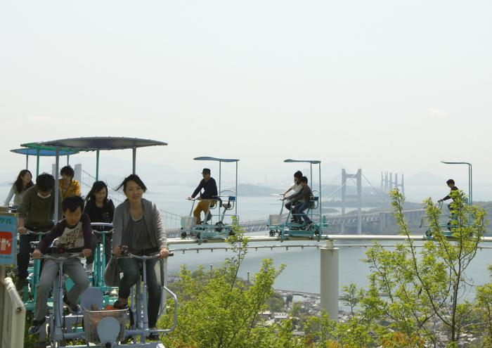 Япония. Небесный велосипед