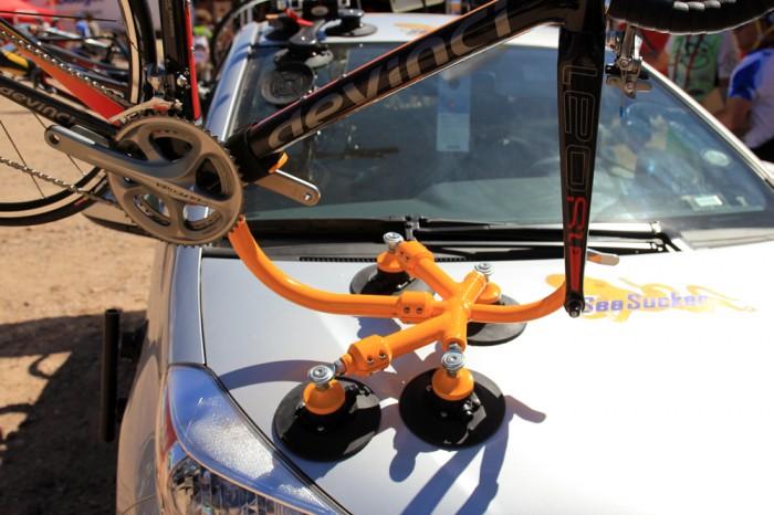 B13: SeaSucker показывает крепление для перевозки велосипедов – Lambo