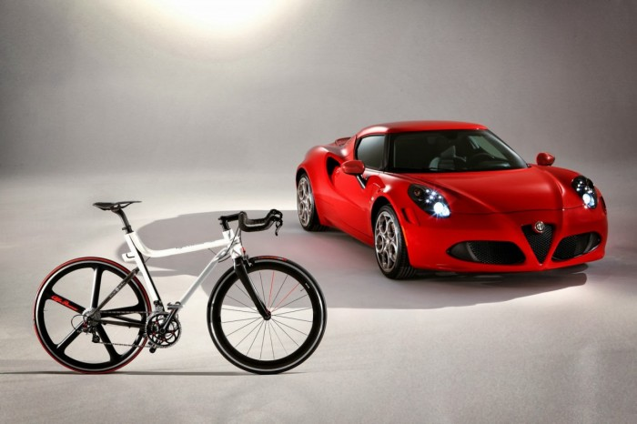 Велосипед от Alfa Romeo 4C IFD Bicycle
