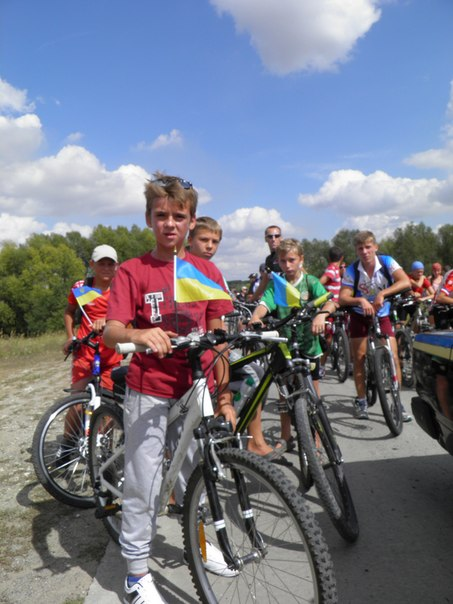 Велопробег Ладыжин. Ростислав