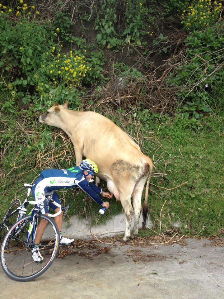 На велосипеде летом, жара, питьевой режим