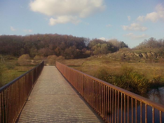 Винница, мост в Шкуринцах
