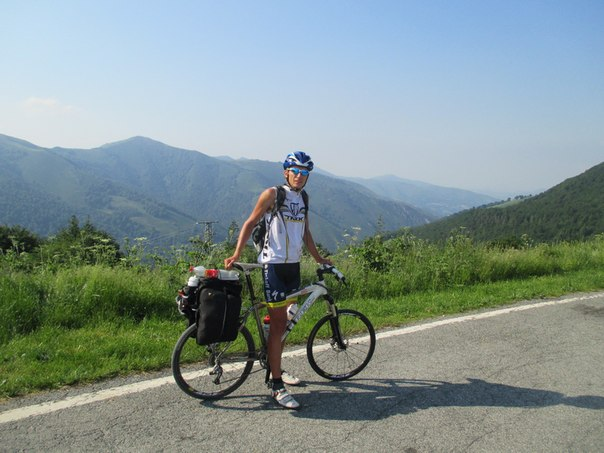 Дмитрий Пащенко. 6 000 километров по Европе на велосипеде