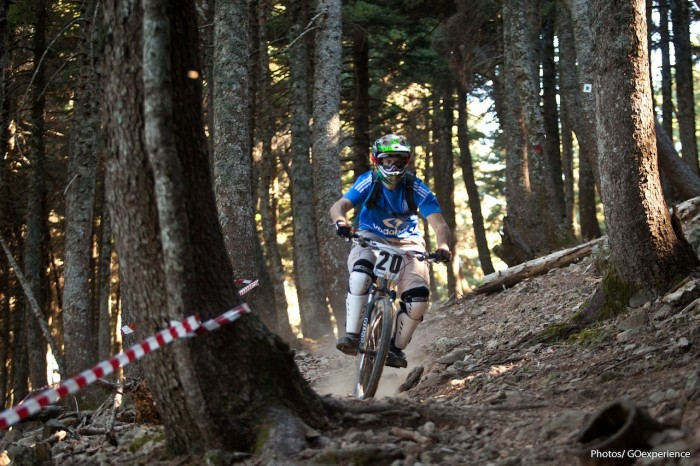 Enduro Race in Greece