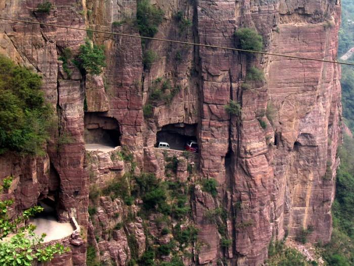 Туннель Guoliang, Китай