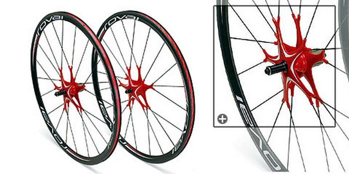 Колеса велосипеда для Париж-Рубе