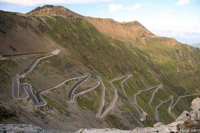 Stelvio Pass, Восточные Альпы, Италия