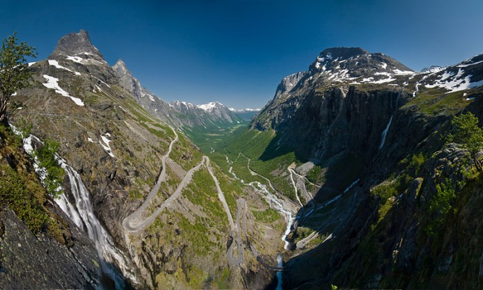 """Лестница Троллей "" Раума, Норвегия"