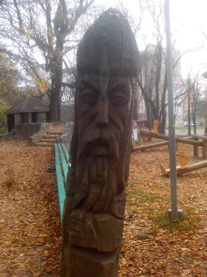 Русский витязь в Парке Ровно