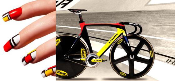 велосипедные ногти